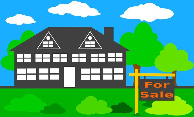 kreslený dům, na prodej, zeleň