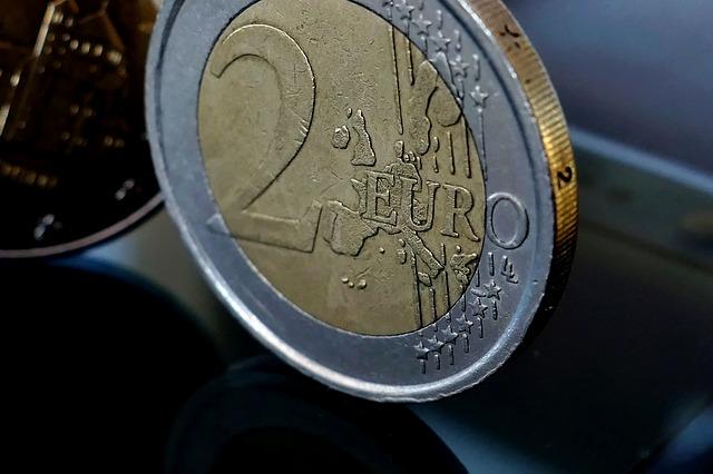 2 euro centy zblízka